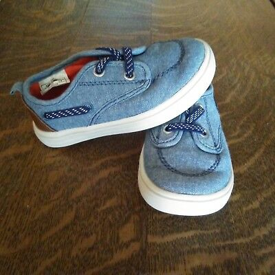 bd19400b25ce OLD NAVY Gray Toddler Boys Boat Shoes Size 6 -  5.00