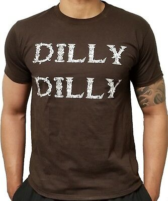 TEMMALDA Dilly Dilly T-Shirt ~ Premium Funny Beer Friendly Drinking Buddy Shirt