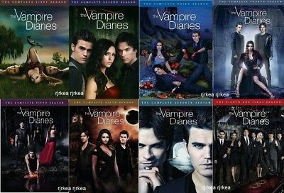 The Vampire Diaries Individual Season DVD Sets 1 2 3 4 5 6 7 or 8 CW TV New