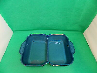 Denby Greenwich Divided Serving Dish