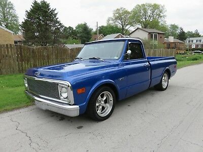 1970 Chevrolet C-10  MUST SEE 1970 CHEVY FACTORY C10 SHORT BED IN SAPPHIRE BLUE 350 CRATE 700R4 AUTO!