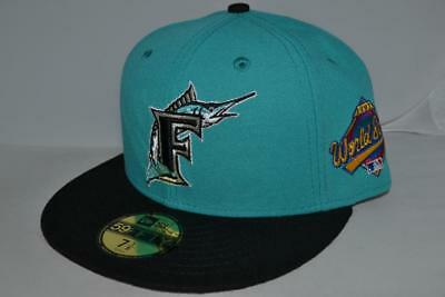NEW ERA FLORIDA MARLINS WORLD SERIES 1997 FITTED Cap HAT 59FIFTY MLB AUTHENTIC