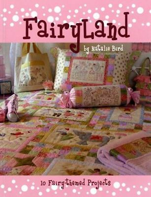 """Fairyland"" Pattern Book by Natalie Bird - The Birdhouse / Quilting / Patchwork"