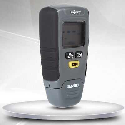 Digital Auto Car Paint Coating Thickness Gauge Meter Tester 0-1.25mm US