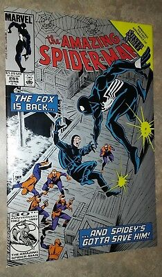 Amazing Spider-Man #265, 1st App Silver Sable, 2nd Print Variant (1992, Marvel)
