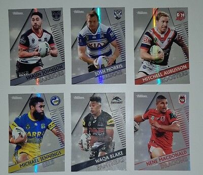 2018 NRL TRADERS PEARL SPECIAL - LOT OF 6 - no doubles