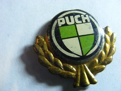 PUCH  motorcycle very old lapel,hat pin badge(D)