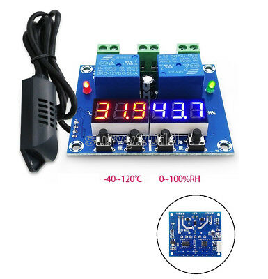 XH-M452 12V LED Digital Display Thermostat Temperature Humidity Controller W1209