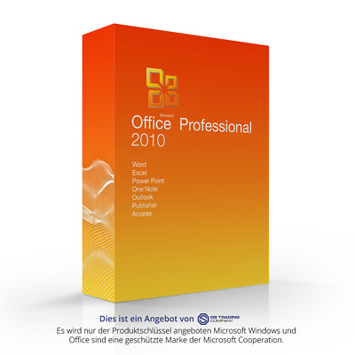 Microsoft Office 2010 Professional Plus esd Word Exel Outlook Power Point