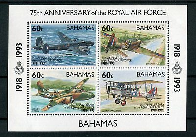 Bahamas QEII 1993 75th anniversary of RAF SG.MS961 MNH