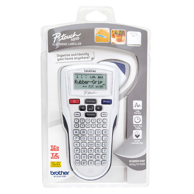 Brand New Brother PT-1010 P-Touch Electronic Label Maker with Tape - Silver