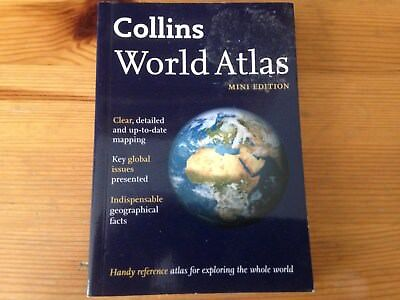 Collins World Atlas: Mini Edition by HarperCollins Publishers (Paperback, 2014)