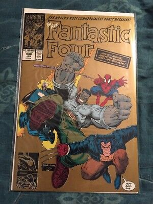 Fantastic Four #348 2nd Print Hard To Find Classic Cover [Marvel Comics]