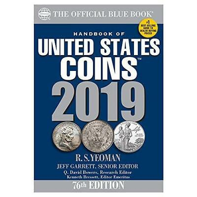 A Handbook of United States Coins Blue Book 2019 (The Official Blue Book of