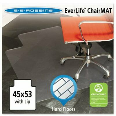 "EverLife Lip Chair Mat Multi-Task Series for Hard Floors, 45"" x 53"" (ESR132123)"