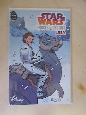 Star Wars Forces of Destiny Leia (IDW) 1A 2018 VF-NM (CS6744)