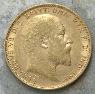 1905 Great Britain Gold Sovereign