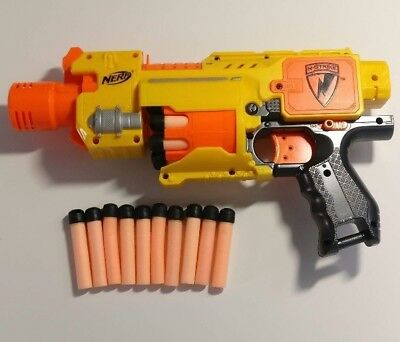 Nerf - Barricade RV10 - GOOD CONDITION- EXTRA AMMO INCLUDED