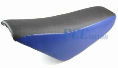 """Details about  Tall Gripper Seat Blue for Chinese Pit Dirt Bike 21"""" Long V SE37"""
