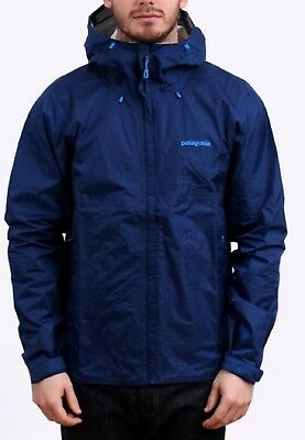 Patagonia Men's Torrentshell Jacket Channel Blue Large w/Stains