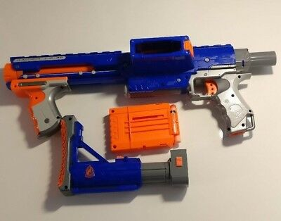 Nerf Raider Cs35 ammo included- GOOD CONDITION **FREE UK POSTAGE**