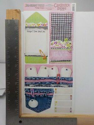 Bo Bunny Press Things I Love About You Cardstock Stickers A11090