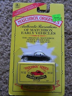 Sealed MAKO Lesney MATCHBOX ORIGINALS SERIES No. 32 The Jaguar XK 140