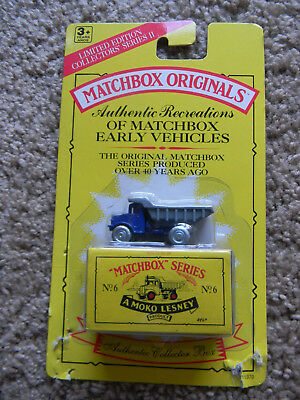Sealed MAKO Lesney MATCHBOX ORIGINALS SERIES No. 6 The Euclid Dump Truck