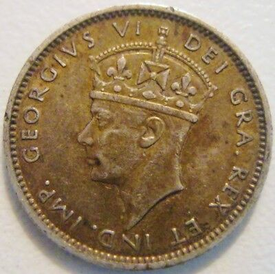 Canada Newfoundland 1938 10 Cents XF Deeply Toned with Sharp Details Low Mintage
