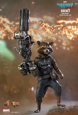GUARDIANS OF THE GALAXY - Rocket Dlx 1/6th Scale Action Figure MMS411 (Hot Toys)