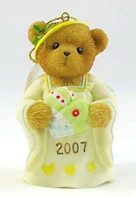 "CHERISHED TEDDIES ""FILLED with LOVE"" 2007 ORNAMENT 4008151  NEW *  FREE SHIPPING"
