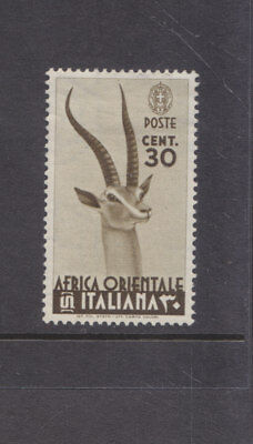 ITALIAN EAST AFRICA-1938-30c BROWN-MINT SMALL HINGE REMAIN-SG 8-$4-freepost