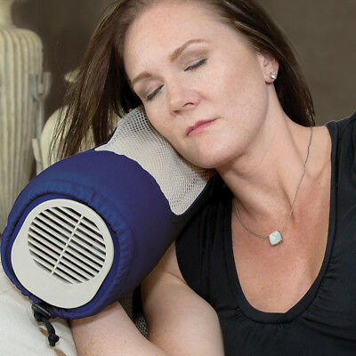 NEW Breezy Buddy Dual Fan Cooling Pillow - Flexible Instant Summer Heat Relief