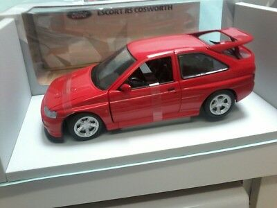 UT Models no 082102 1/18 FORD ESCORT COSWORTH  in Red,Mint in window Box