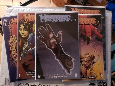 lot of 6 witchblade comics #174 177 180 181 182 183