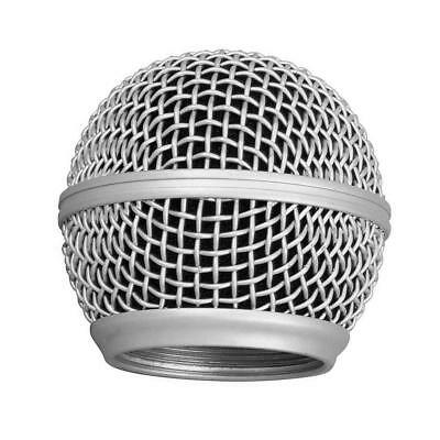 Metal Replacement Head Mesh Microphone Grille for Shure SM58!-