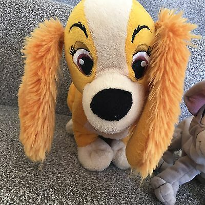 Disney Lady And The Tramp Plush Soft Toy Cuddly