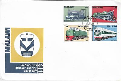 Malawi Locomotives 1968 First Day Cover My Ref 380B