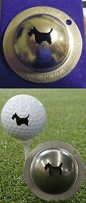 1 ONLY TIN CUP GOLF  BALL MARKER - SCOTTY THE TERRIER - like SCOTTY CAMERON