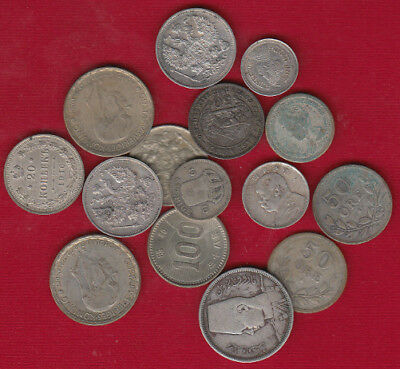 2 OZT Foreign Silver Coins