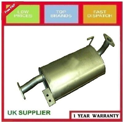 Isuzu Trooper 3.0 Td 1997-2005 Swb Centre Axle Rear Exhaust Silencer Boxes
