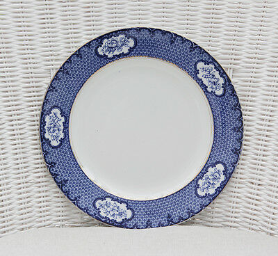 Losol Ware Blue and White Cranford Plate 9.5in