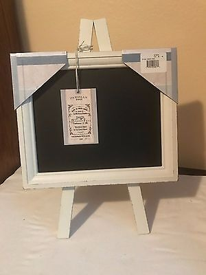Chalkboard Black Board Vintage Display Chalk Message Sign Stand Shabby Chic