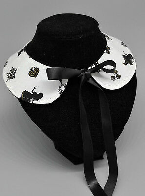 Peter pan collar collettino gothic lolita alice in wonderland goth japan
