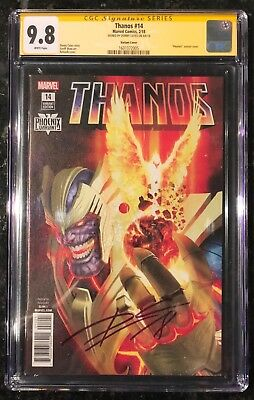 Thanos 14 Cgc 9.8 Phoenix Variant Signed Donny Cates Cosmic Ghost Rider Infinity
