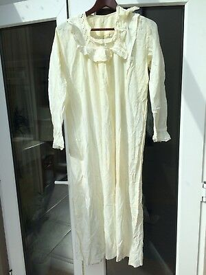 Victorian Nightdress Long Sleeve Nursing