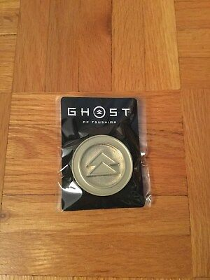 Ghost of Tsushima Playstation Experience E3 2018 Gold Metal Pin
