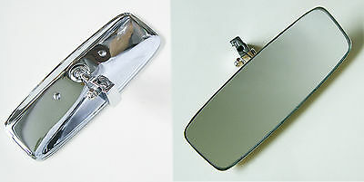 MGB, AH Sprite and MG Midget Interior Mirror with Chrome Back, BHA4806C