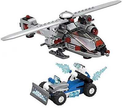 LEGO *No Minifigs Super Heroes HELICOPTER and ICE CAR - Split from 76098 Set