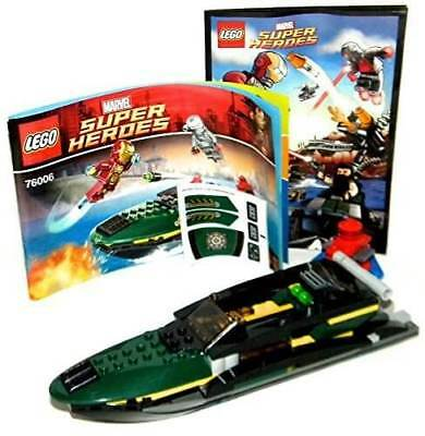 LEGO *No Minifigs Super Heroes IRON MAN BOAT   BUOY - Split from 76006 Set